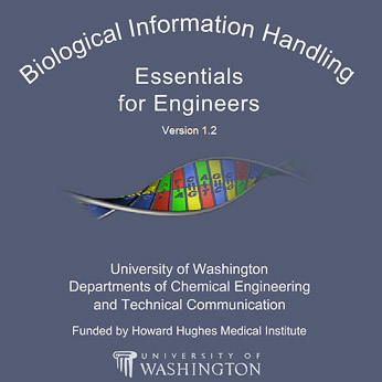 Click below to take the award-winning course, Biological Information Handling: Essentials for Engineers