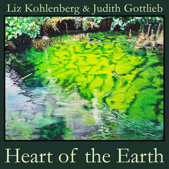 CD jacket design for Heart of the Earth (Liz Kohlenberg and Judith Gottlieb)